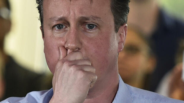 David Cameron Quelle: REUTERS