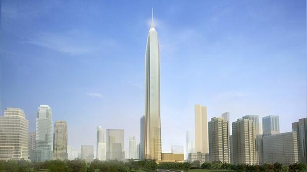 Ping An International Finance Center Quelle: Courtesy KPF