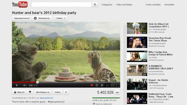 Screenshot von hunter and bear's birthday party Quelle: Screenshot