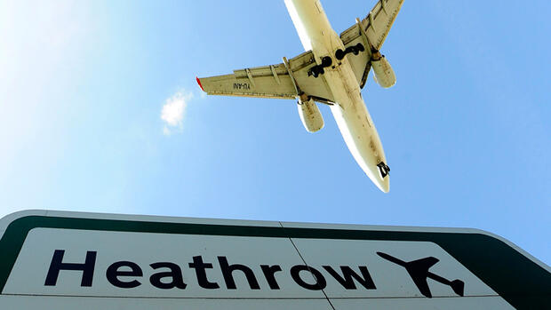 Platz 1: London Heathrow Quelle: Reuters