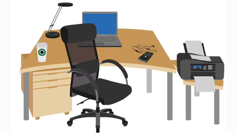 B ro der schreibtisch im wandel der zeit for Schreibtisch um die ecke