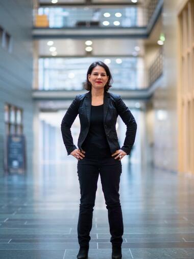 Grune Annalena Baerbock Will Neues Wirtschaftsprofil Geben