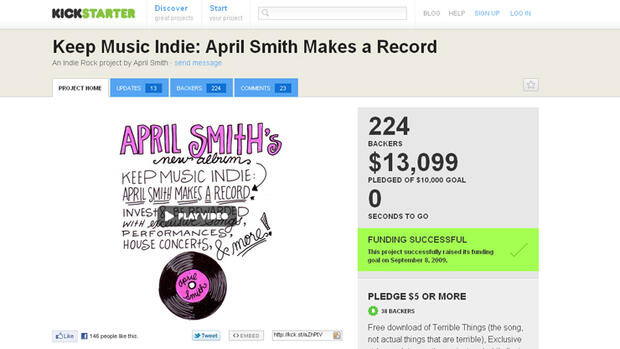 "April Smith' ""Keep Music Indie"""