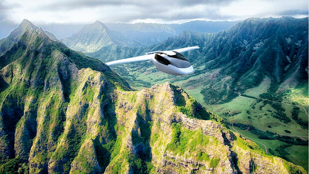 Elektroflieger von Lilium Aviation Quelle: Presse