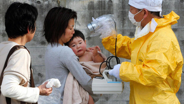 UNICEF Nothilfe in Fukushima Quelle: dpa