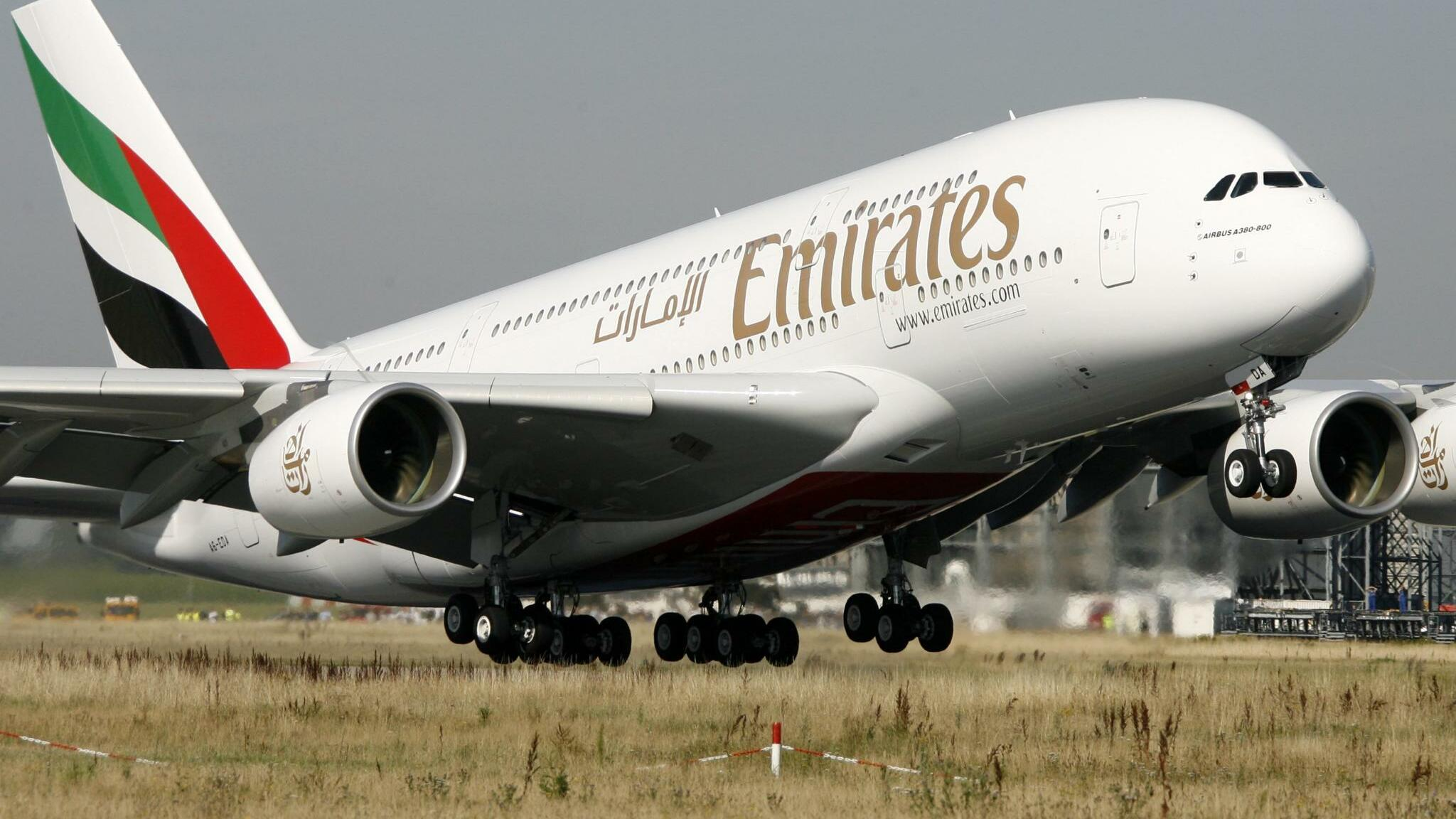 Emirates Quelle: dpa