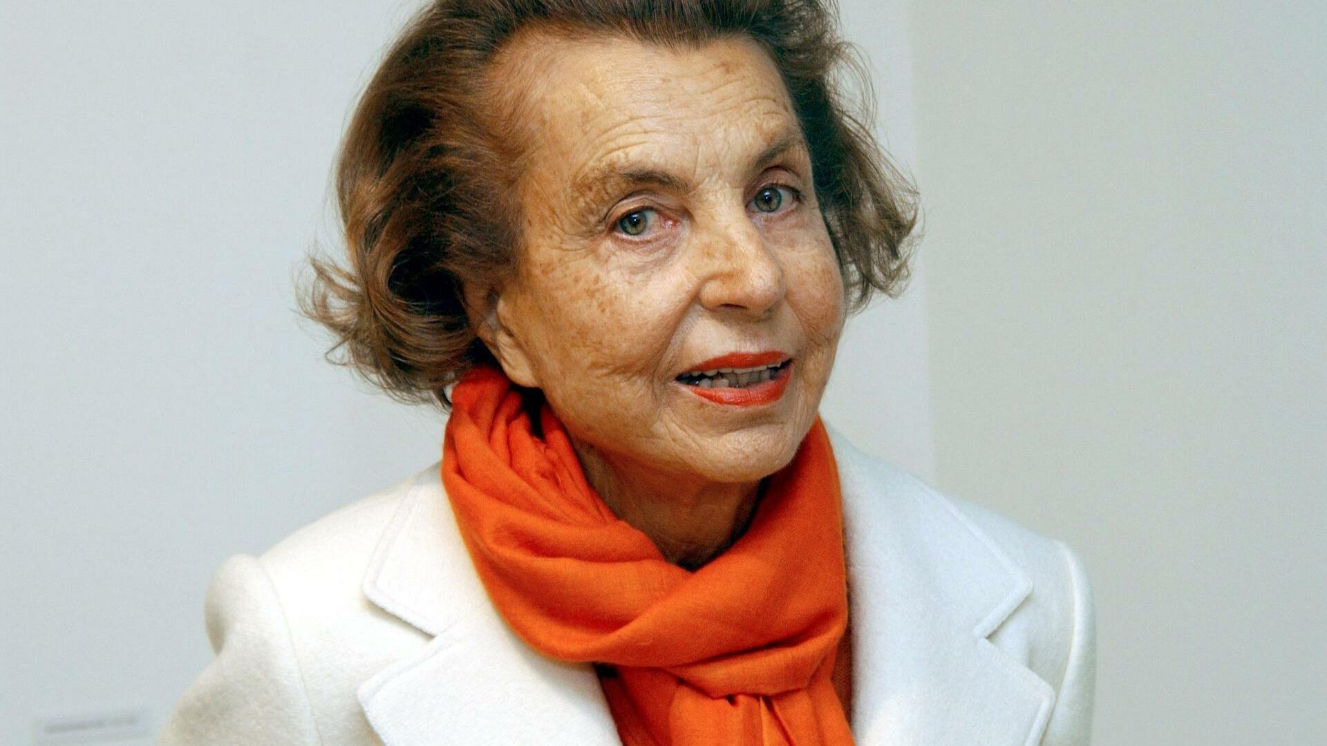 Liliane-Bettencourt Quelle: dpa