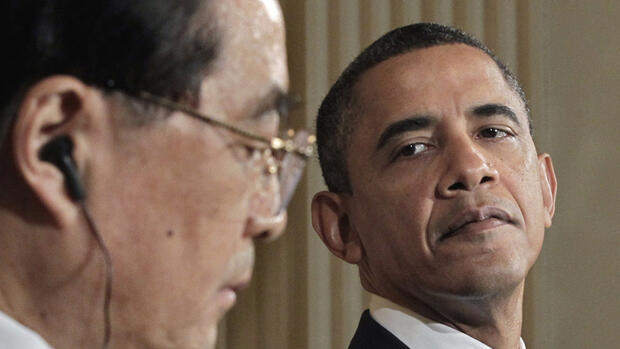 Obama, Jintao Quelle: dapd