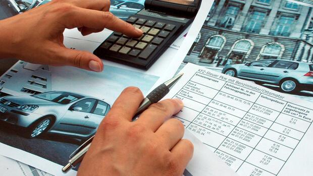 Kfz-Steuer berechnen