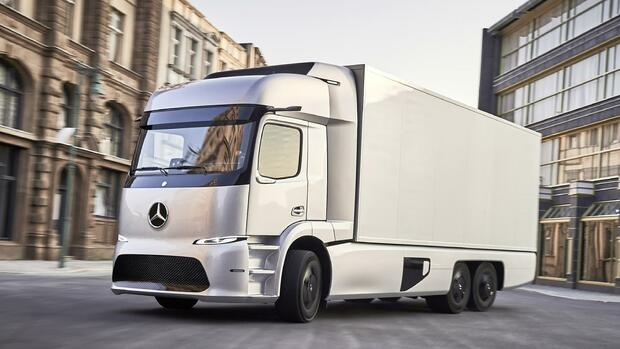 Mercedes-Benz Urban eTruck Quelle: Daimler