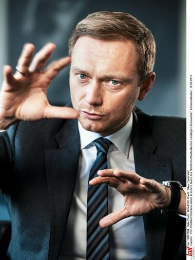Christian Lindner Quelle: Laif