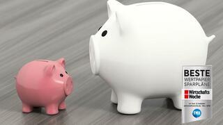 Ranking Wertpapiersparpläne: In kleinen Schritten Vermögen aufbauen