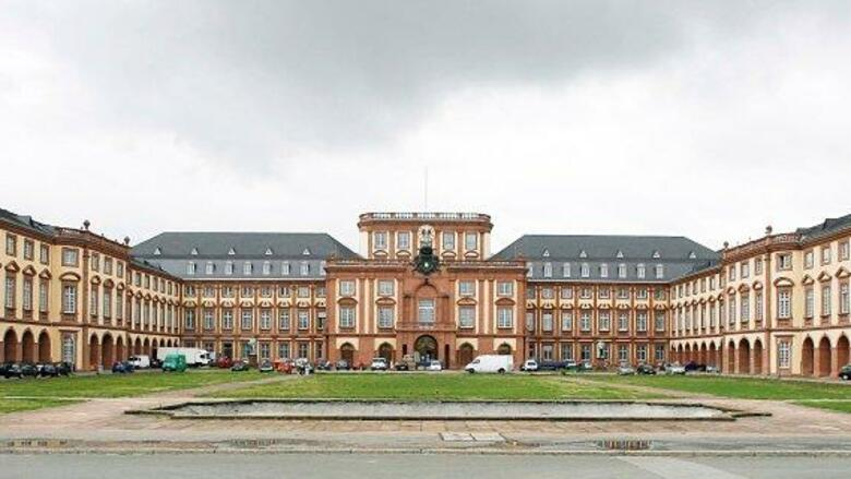 "Die Universität Mannheim ist die einzige deutsche Hochschule in den Top 20 des ""World University Rankings"" von ""Times Higher Education"". Quelle: dpa Picture-Alliance"