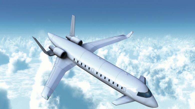 Der flüsterfliegerein möglichst leises flugzeugmodell benötigt