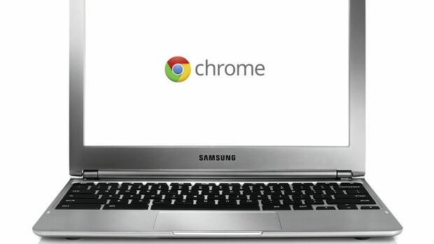 Foto des Notebooks Chromebook