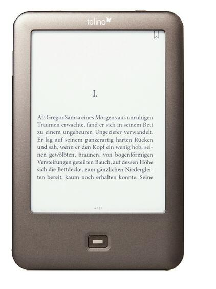 Foto des E-Book-Readers Tolino
