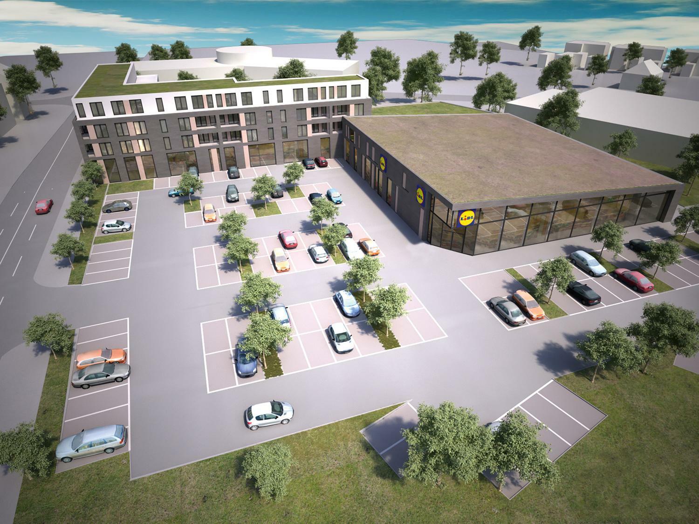 In Hamburg will Lidl ein Wohnhaus direkt neben eine neue Filiale setzen