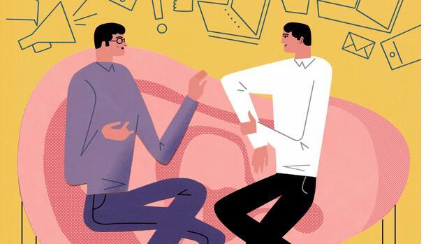Online-Dating-Treffen erstmals von Angesicht zu Angesicht