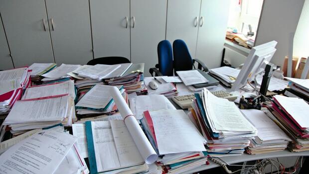 B ro organisation totale flexibilit t for Schreibtisch organisation