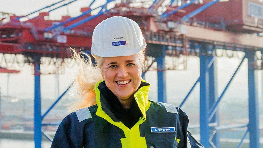 Angelika Titzrath: Eine neue Perspektive für die HHLA