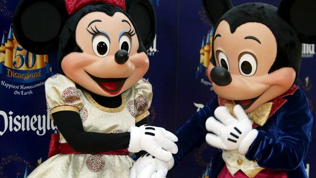 Mickey and Minnie Maus. Quelle: dpa