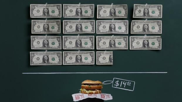 BigMac Quelle: REUTERS