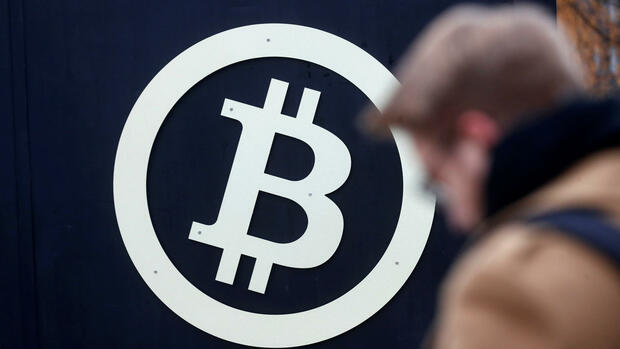 Bitcoin-Symbol Quelle: REUTERS