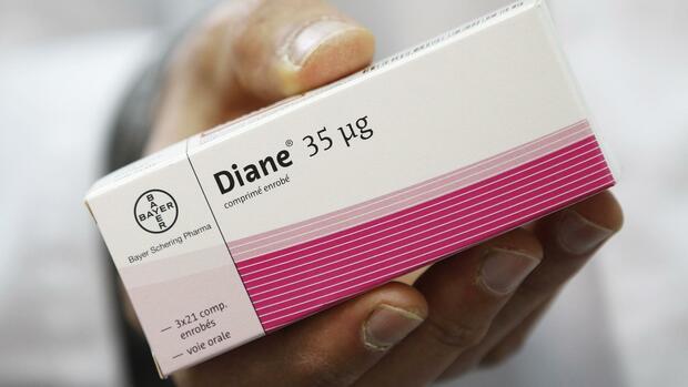 Frankreich stoppt Pille Diane 35