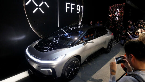 Faraday Future FF 91 Elektro-SUV Quelle: REUTERS