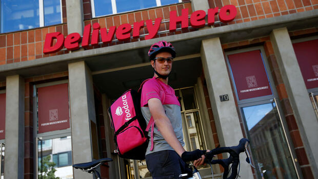 Das Hauptquartier von Delivery Hero in Berlin. Quelle: REUTERS