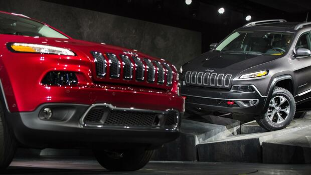 Jeep Cherokee Quelle: REUTERS