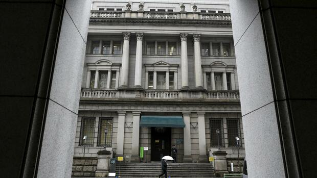 Gebäude der Bank of Japan. Quelle: REUTERS