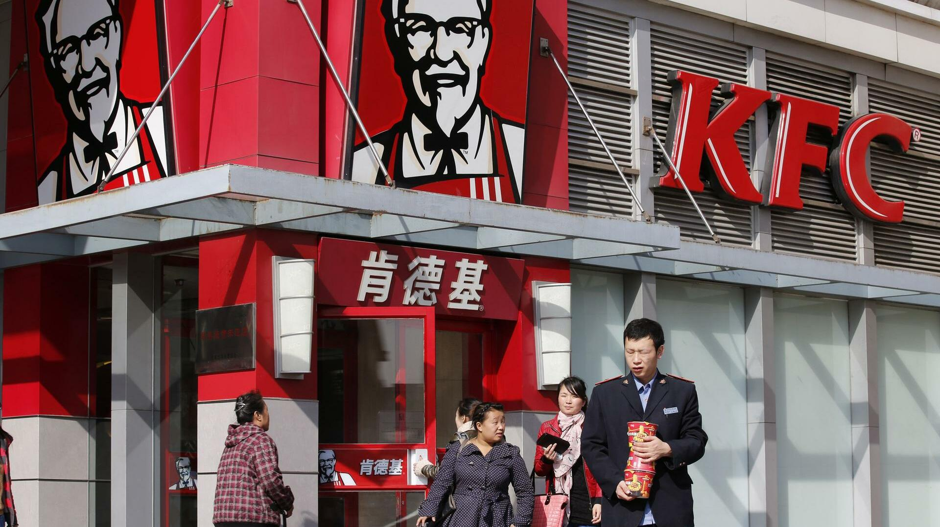 KFC Taco Bell Pizza Hat China Quelle: REUTERS