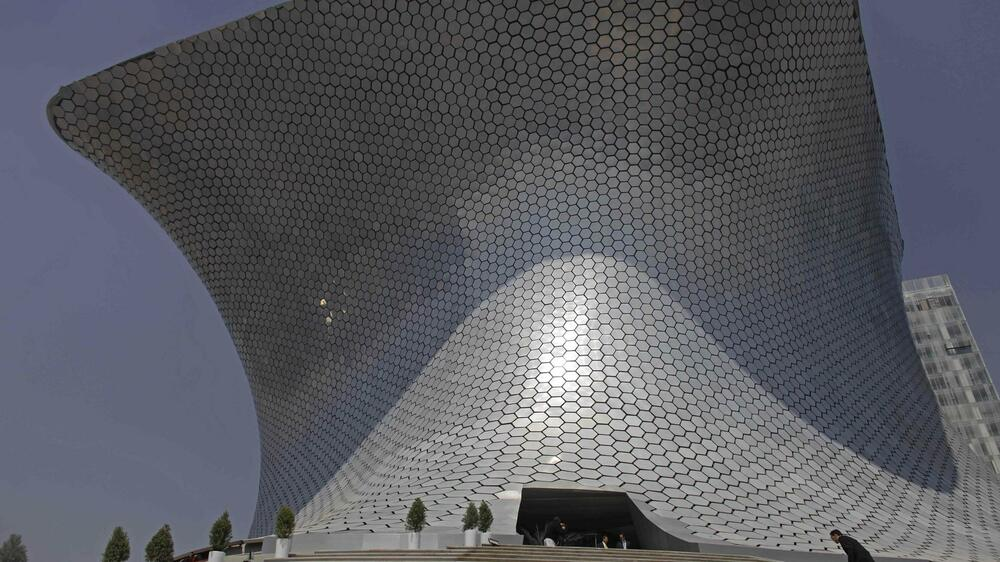 Soumaya-Museum in Mexiko City Quelle: dapd