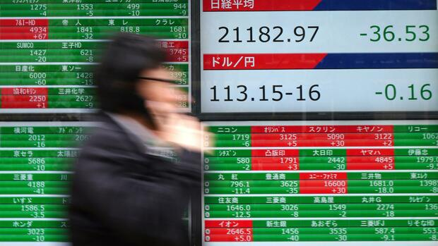Nikkei-Index Quelle: AP