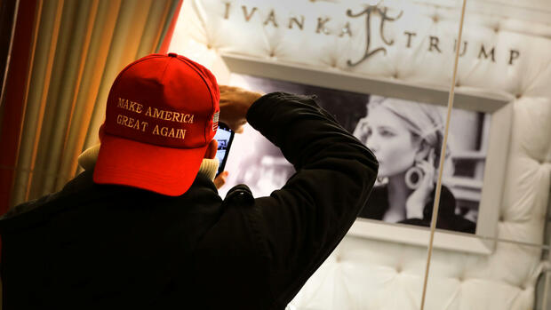 Ivanka-Trump Quelle: REUTERS