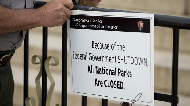 shutdown National Parks Quelle: AP