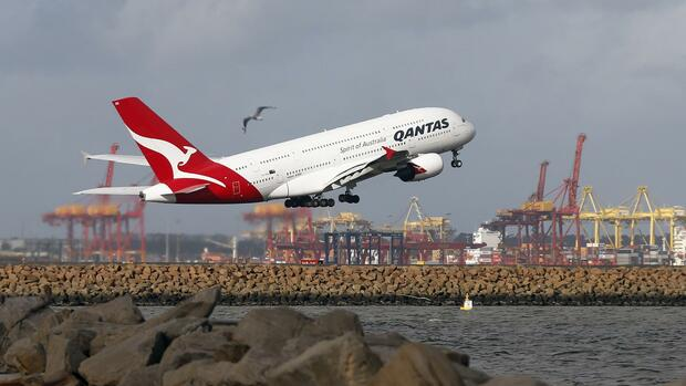 Qantas Airways Quelle: REUTERS