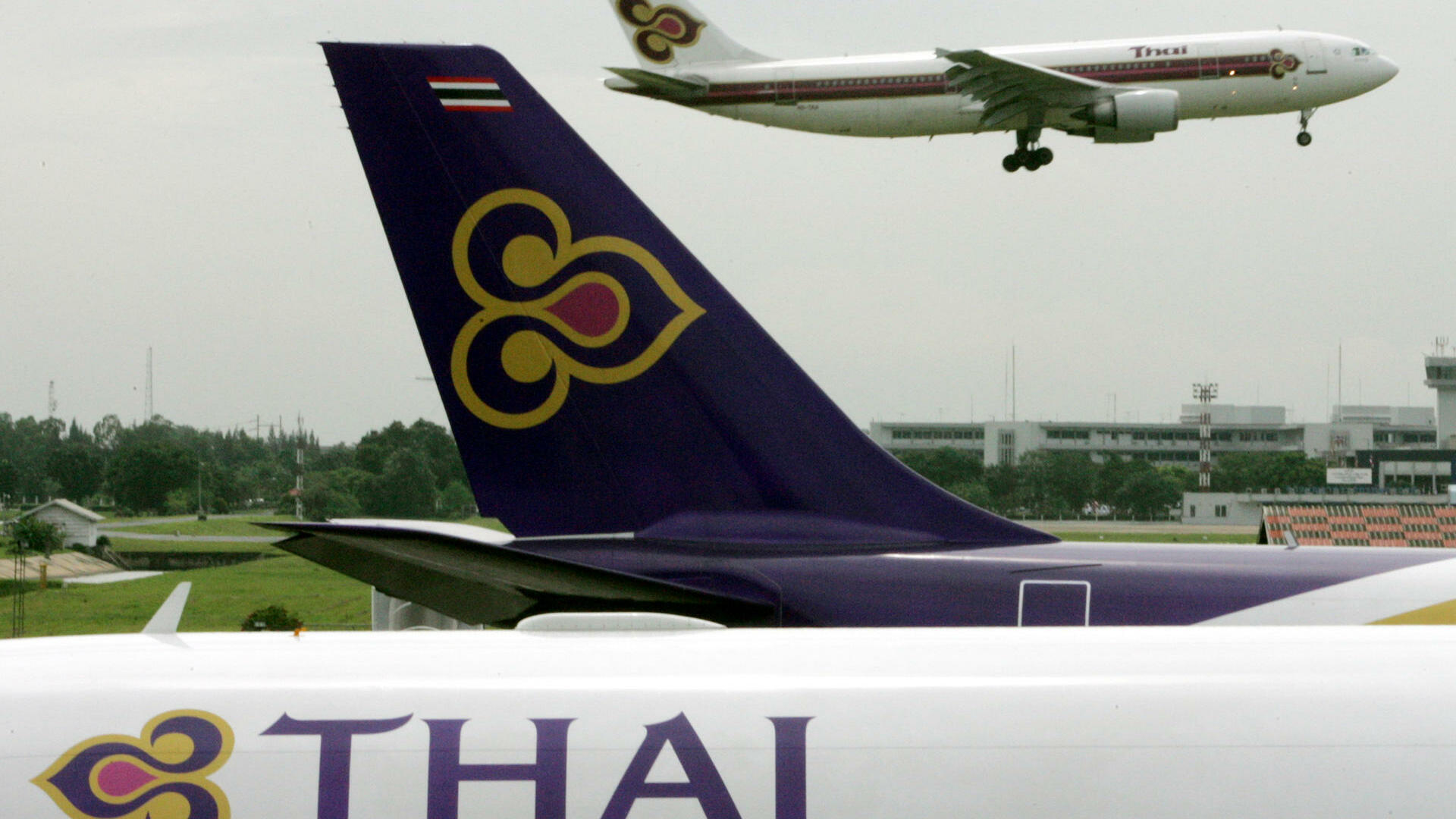 Flugzeuge von Thai Airways Quelle: REUTERS