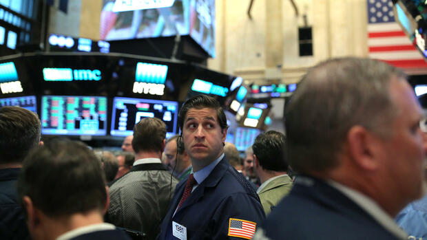 Trader an der New York Stock Exchange (NYSE) in Manhattan Quelle: REUTERS