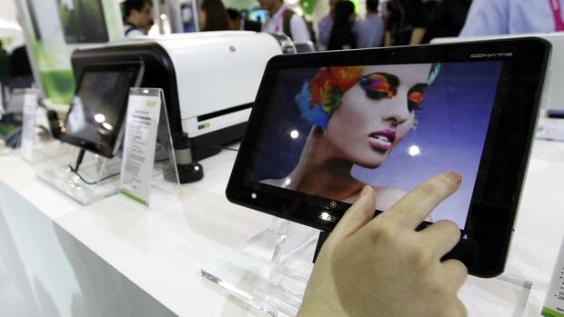 Ein Acer Iconia Tablet A700. Quelle: Reuters
