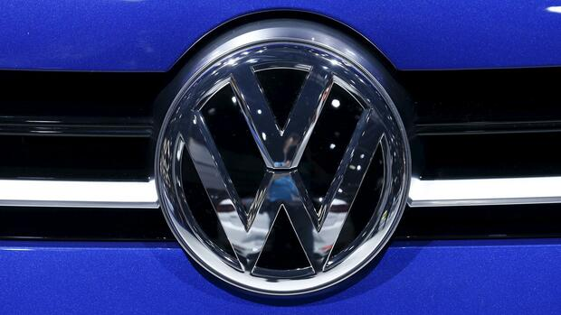 VW-Logo. Quelle: REUTERS