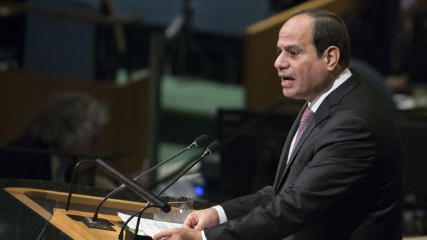 Rede vor Uno: Al-Sisi hofft auf Lösung im Nahost-Friedensprozess