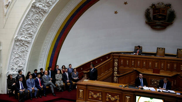 National Assembly in Caracas, Venezuela Quelle: REUTERS