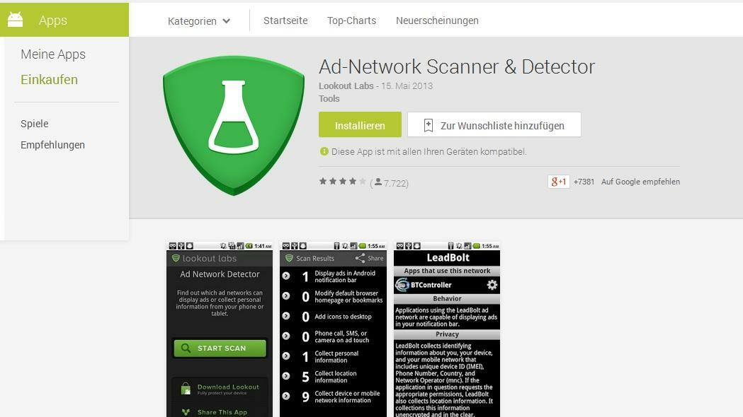 Ad network detector apk android