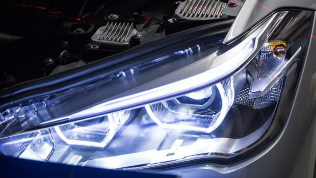 LED-Scheinwerfer Quelle: BMW