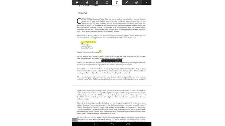 Adobe Reader Touch Quelle: Screenshot