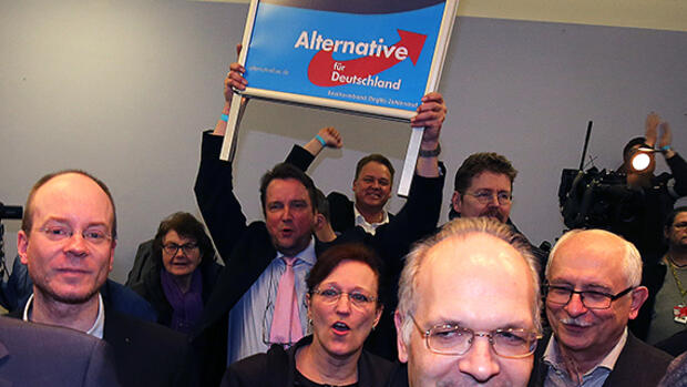 AfD-Wahlparty. Quelle: dpa Picture-Alliance