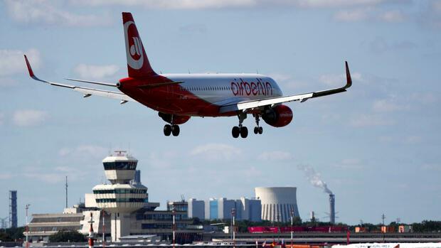 Auffanglösung für Beschäftigte: Air Berlin bittet Bund um finanzielle Hilfe