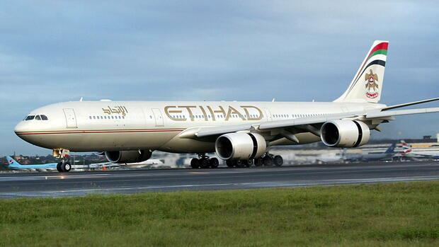 Etihad Airways Quelle: dpa